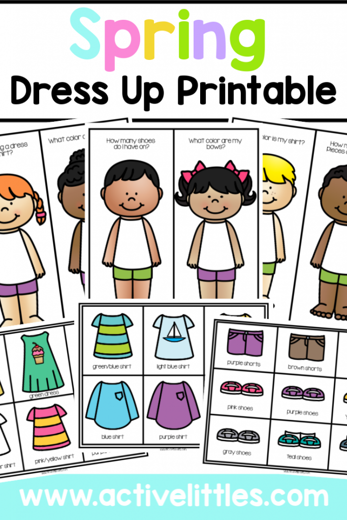 Spring Dress Up Printable