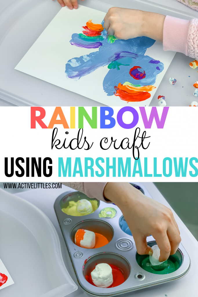 diy craft using marshmallows for kids