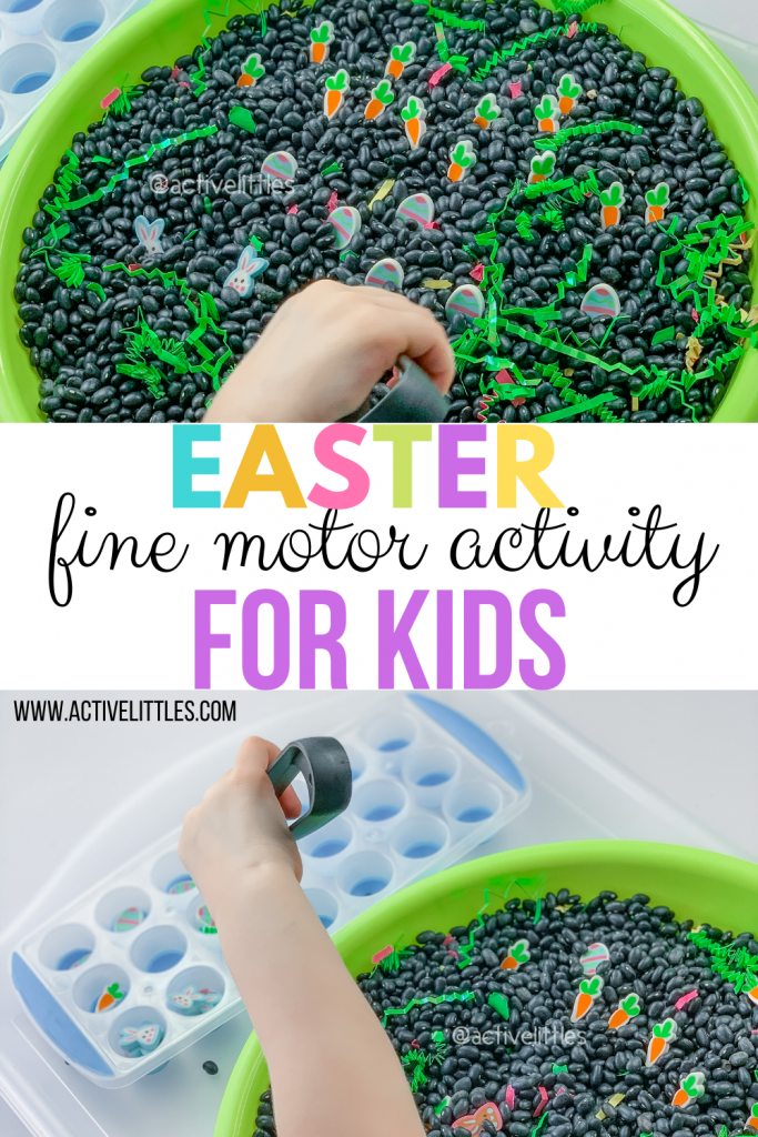 easter fine motor activity for kids