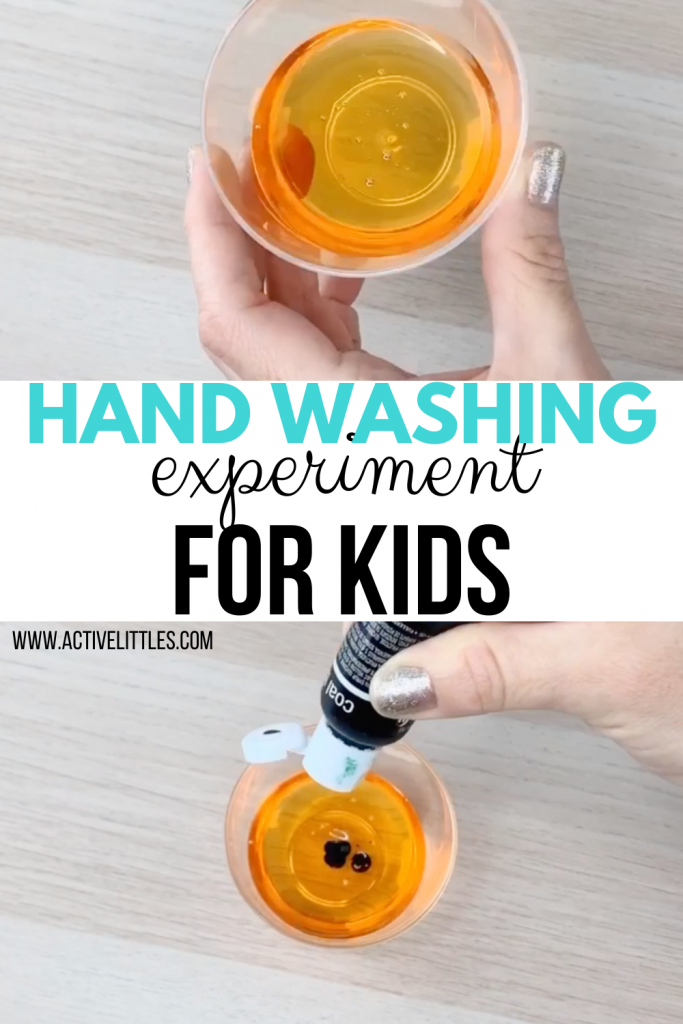 easy handwashing experiment for kids