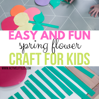 easy spring flowers activity for kids