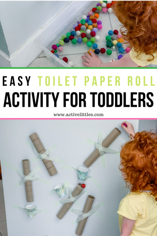 Easy Toilet Paper Roll Activity for Kids