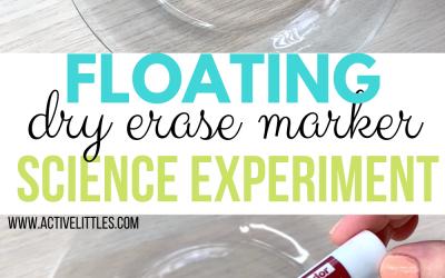 floating dry erase marker experiment