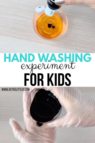 Hand Washing Experiment for Kids