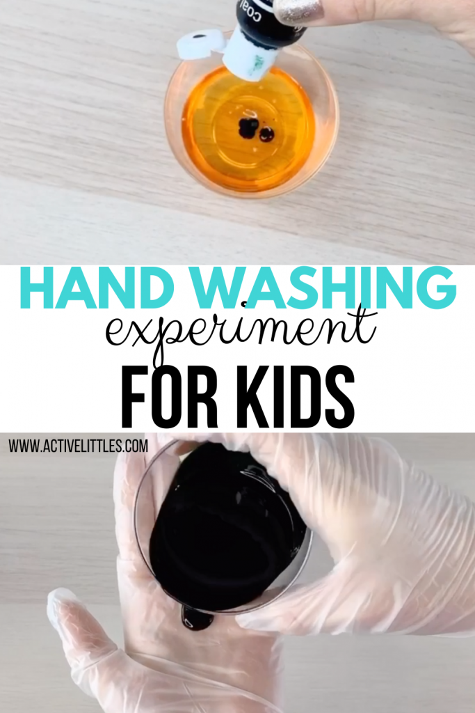 handwashing experiment for kids