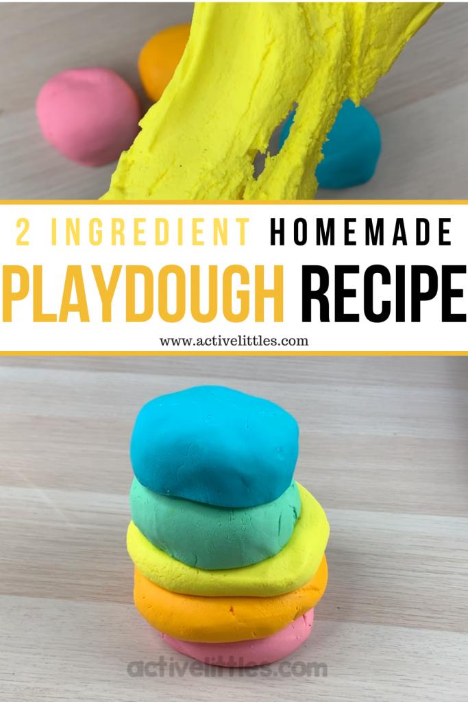 homemade playdough recipe tutorial