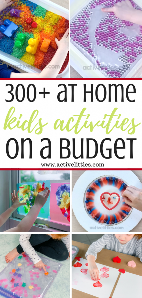 kids activities and crafts at home