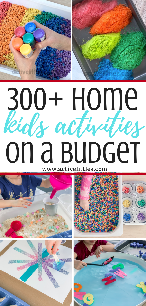 list of kids activities at home