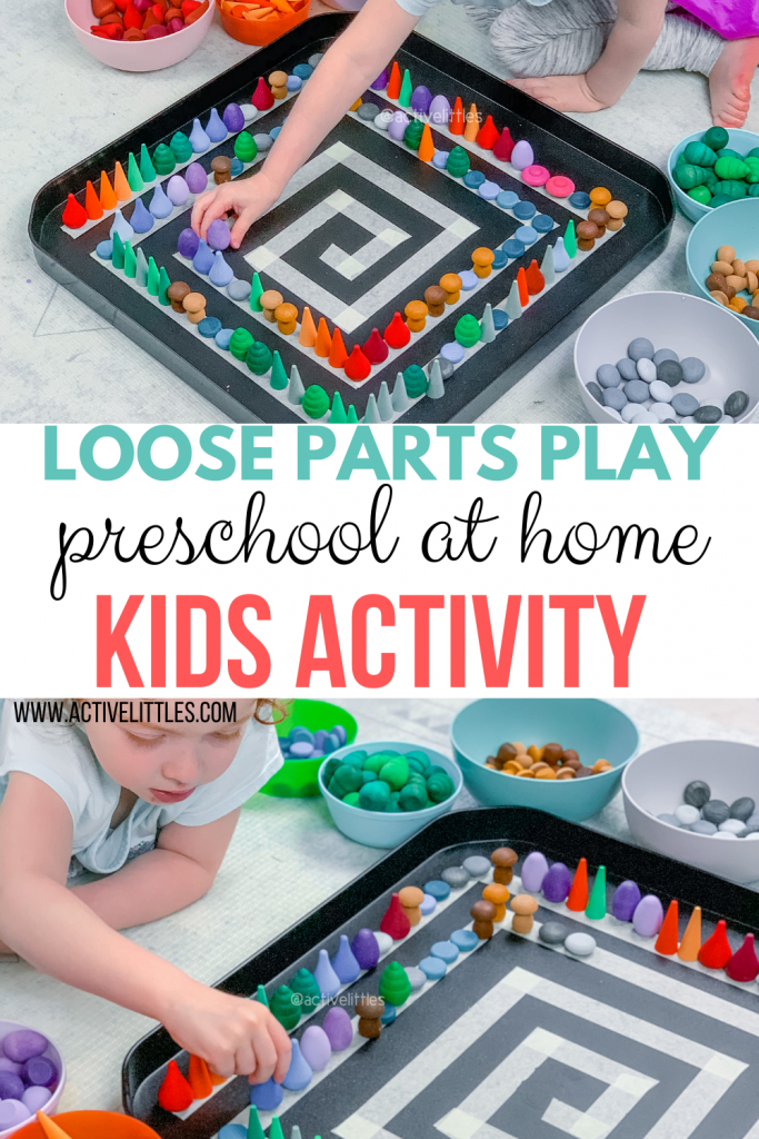 loose parts play ideas for kids