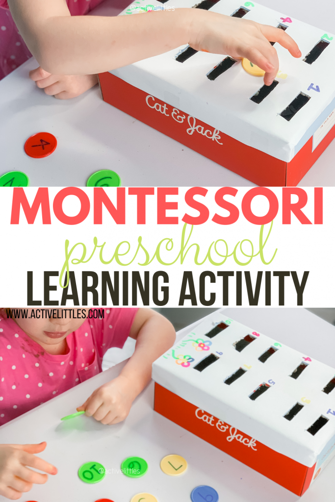 montessori learning activity at home