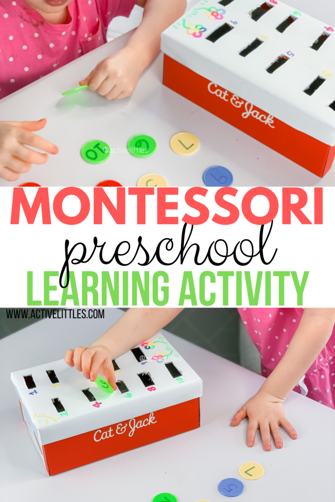 montessori preschool learning activity