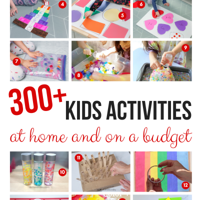 over 300 at home activities for kids
