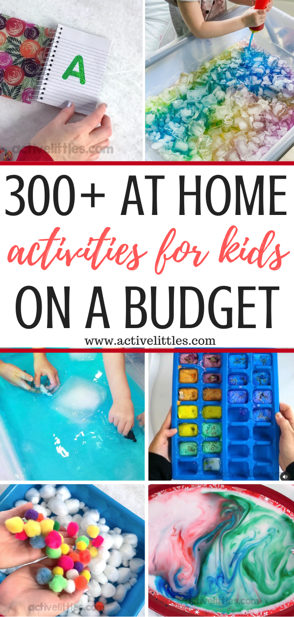 over 300 crafts for kids at home