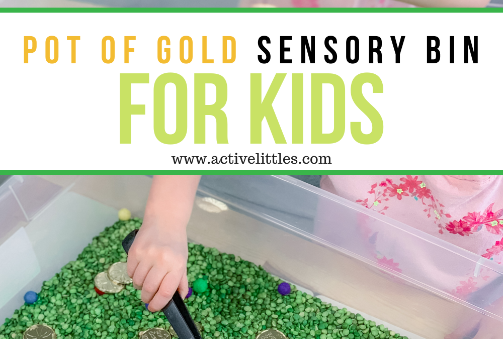 Pot of Gold Sensory Play for Toddlers