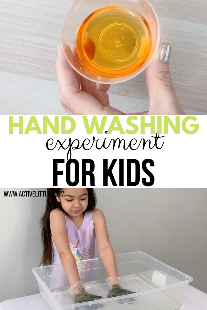 simple handwashing experiment for kids