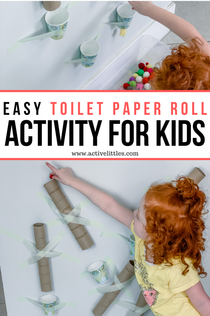 simple toilet paper roll activity for kids