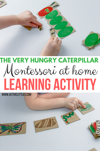The Very Hungry Caterpillar Activity Montessori Learning Activity