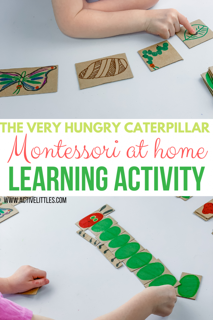 the very hungry caterpillar cardboard cutout activity