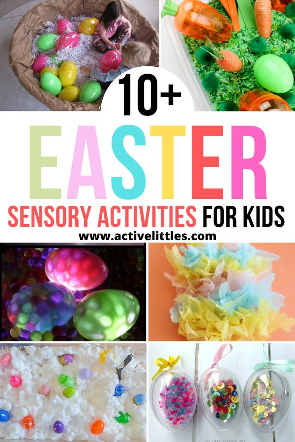 Easter Sensory Activities for kids
