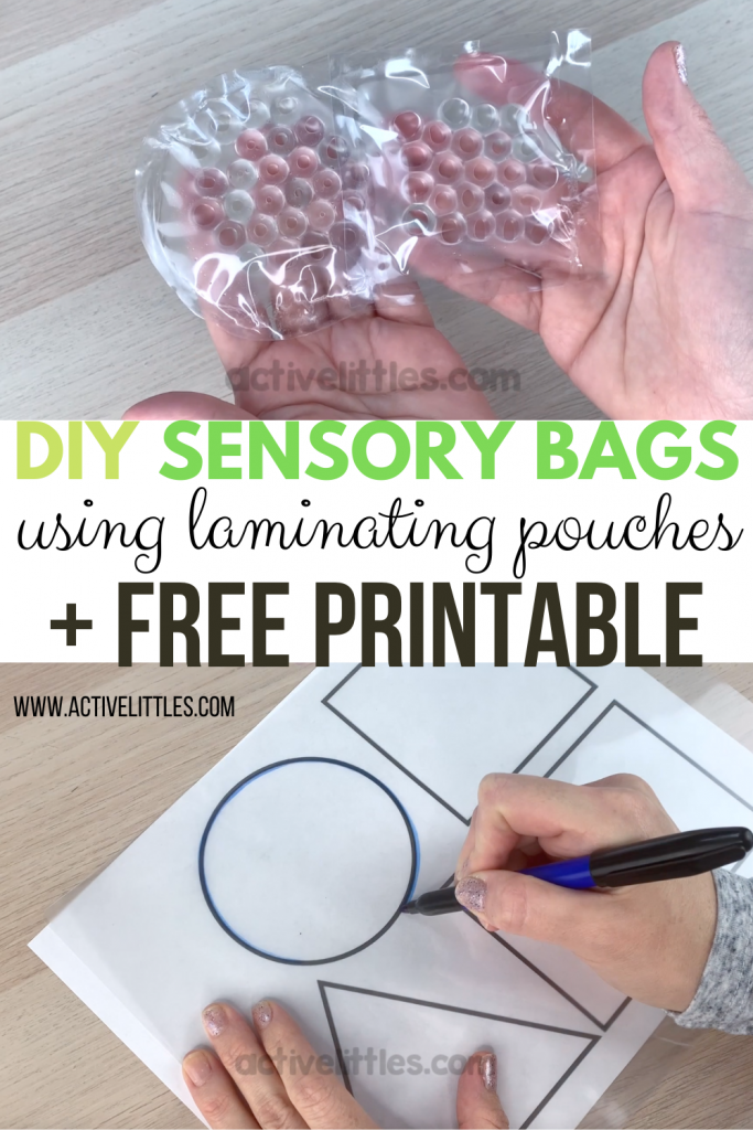diy sensory bag for kids