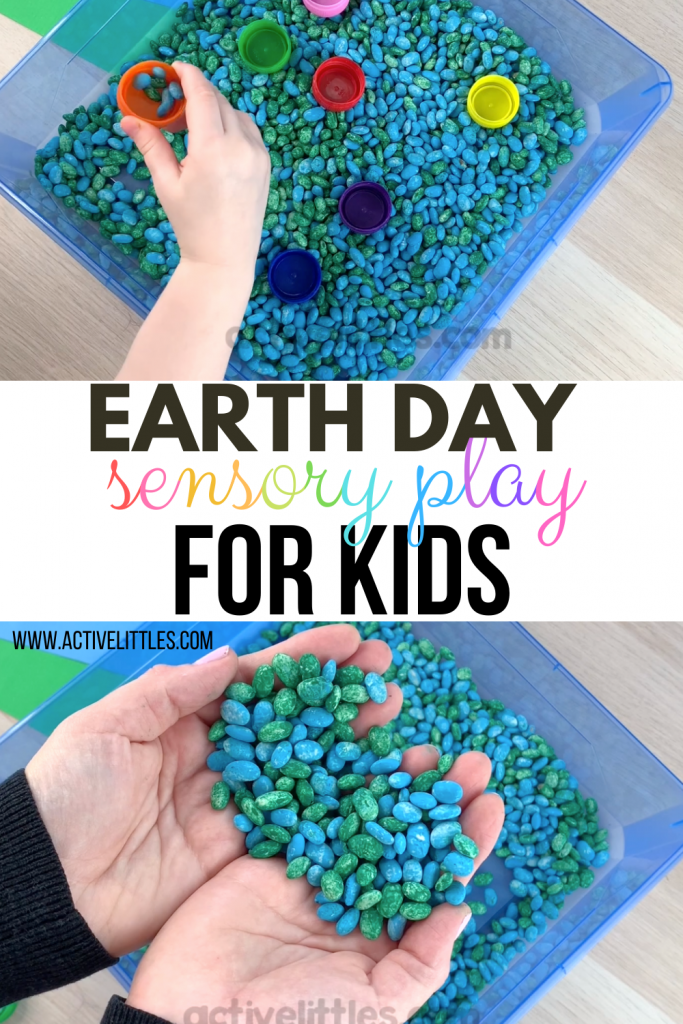 earth day sensory play for kids