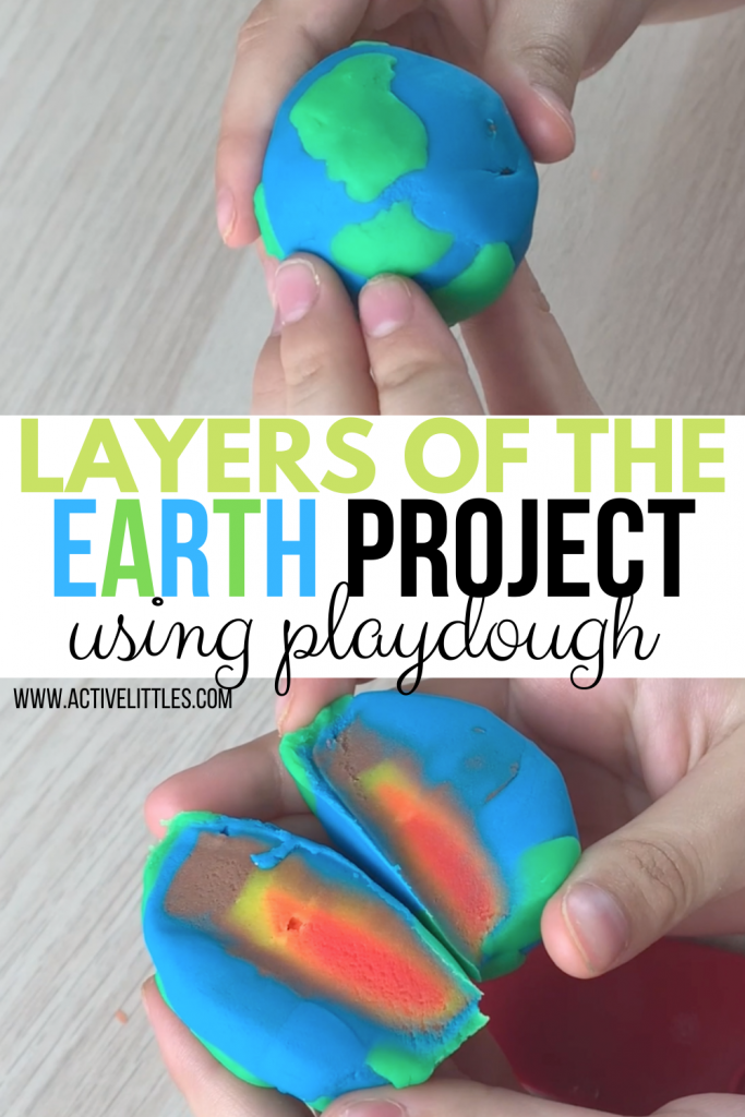 earths core playdough