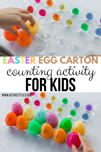 Easy Egg Carton Easter Crafts and Learning Games