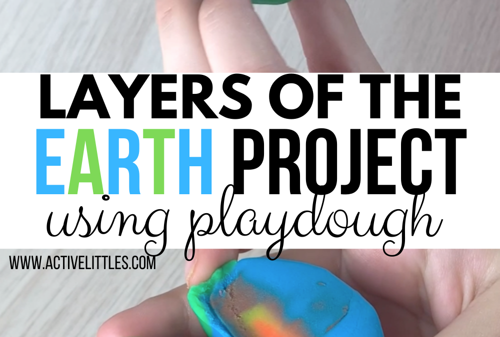 Layers of the Earth Project using Playdough