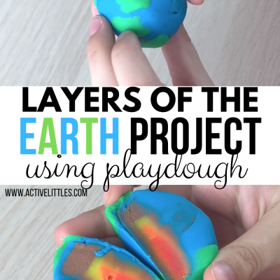 layers of the earths core playdough