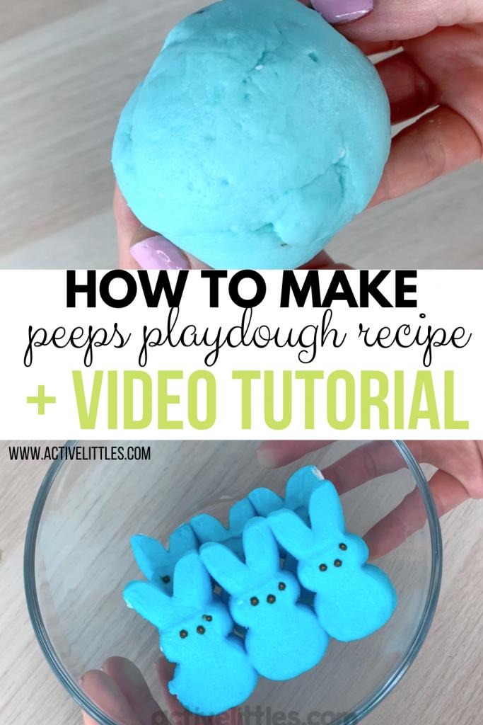 peeps playdough video tutorial
