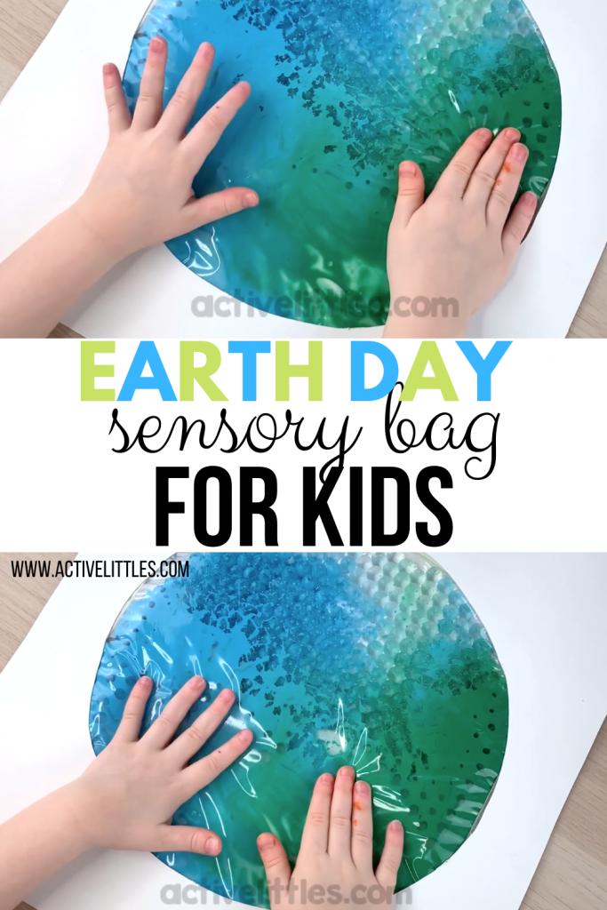 sensory bag for earth day