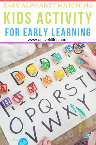 Alphabet Letters Kids Activity