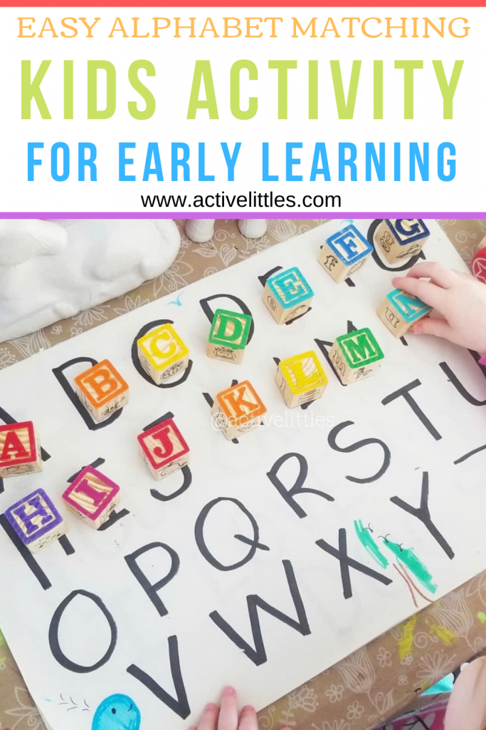 alphabet letter kids activity for early learning