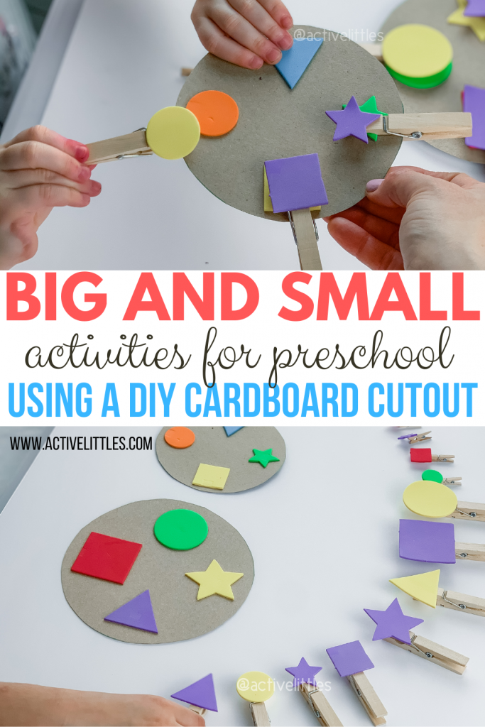 big and small activities for kids