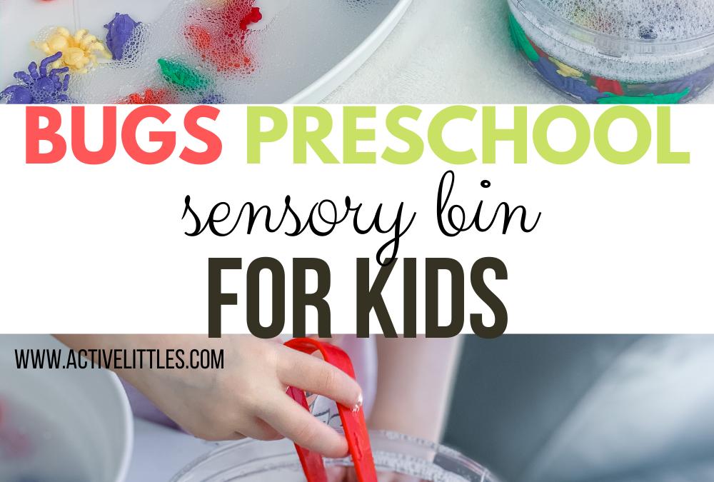 Bugs Preschool Sensory Bin