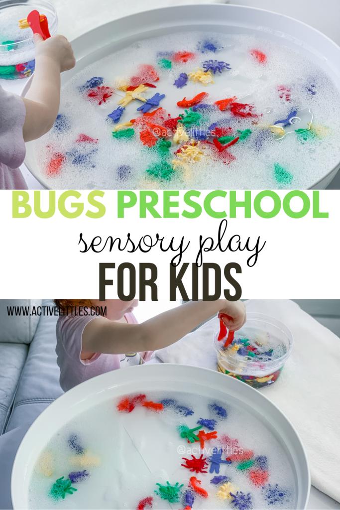 bugs preschool sensory play for kids