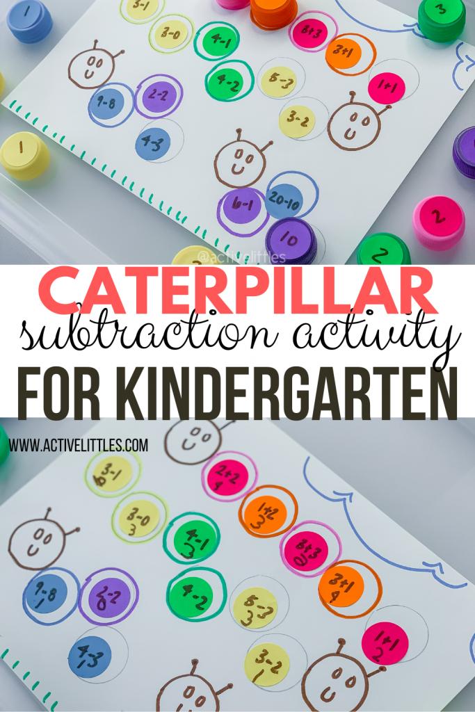caterpillar pattern match for kids
