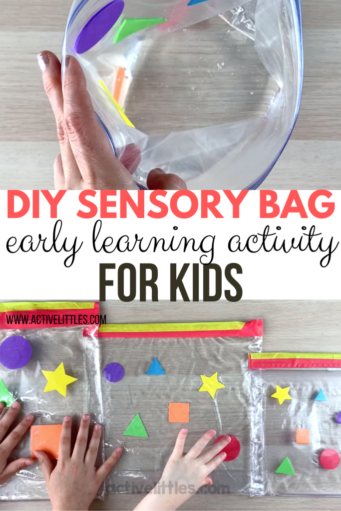 diy early learning sensory bags for kids