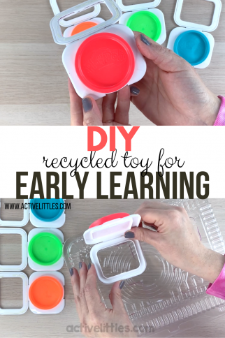 DIY Recycled Project for Early Learning