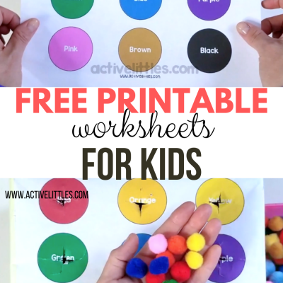 early learning free printable for kids