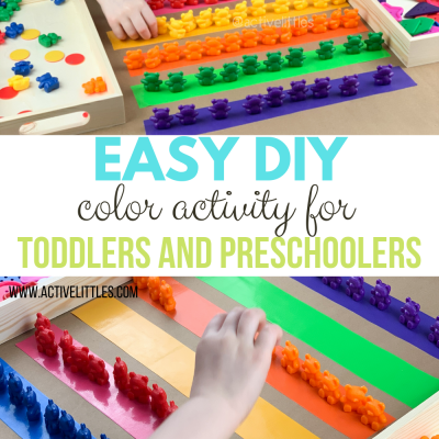 easy diy color activity for toddlers