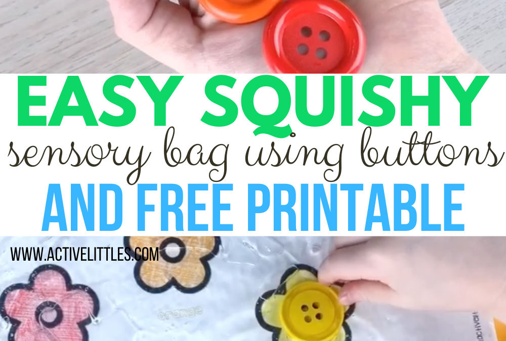 Easy Squishy Color Sorting Sensory Bag using Hair Gel