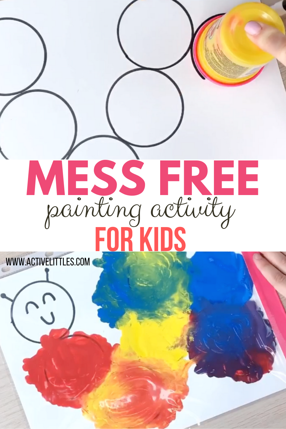 Mess Free Painting For Kids Active Littles