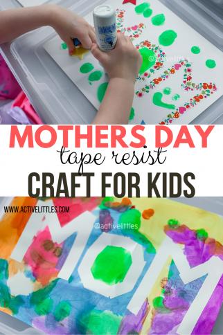 Mother's Day Crafts Preschool Activity