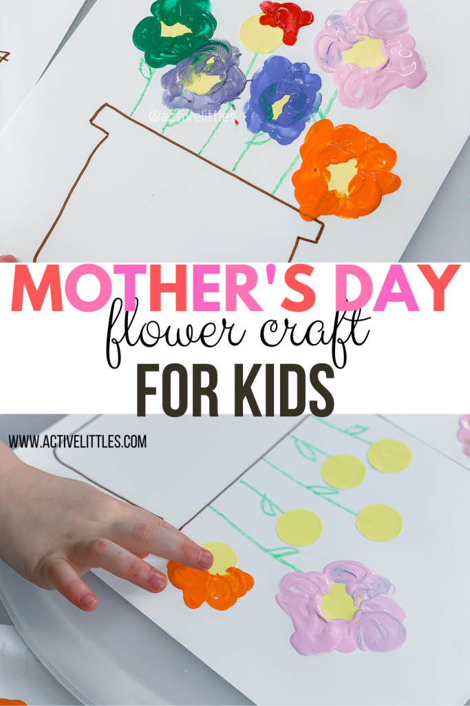 mothers day flower crafts for kids