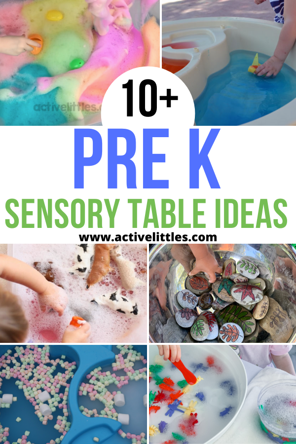 pre k sensory table ideas for kids