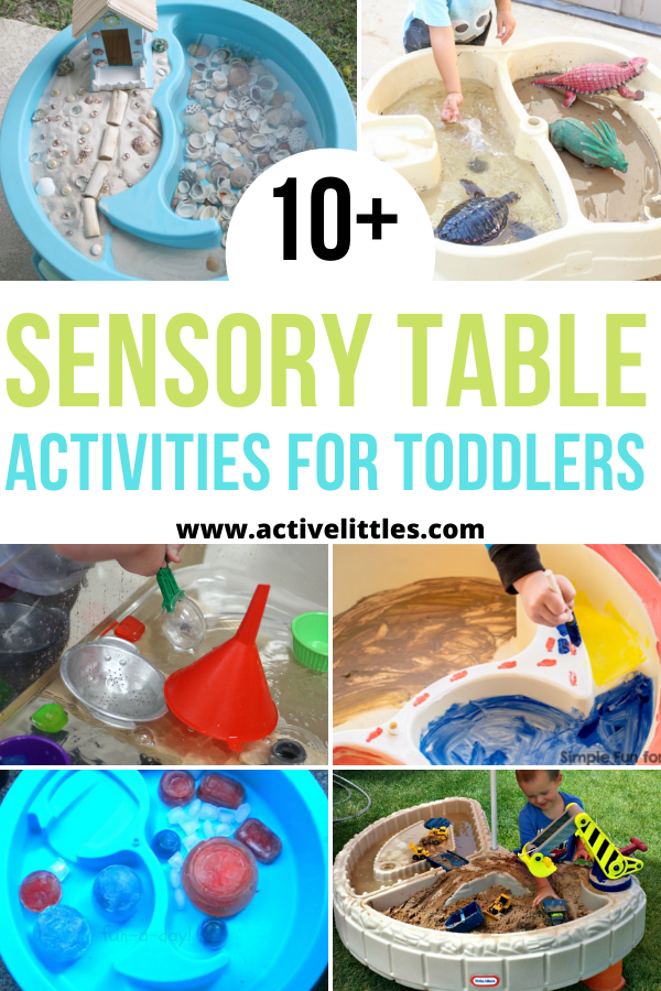 sensory table activities for toddlers