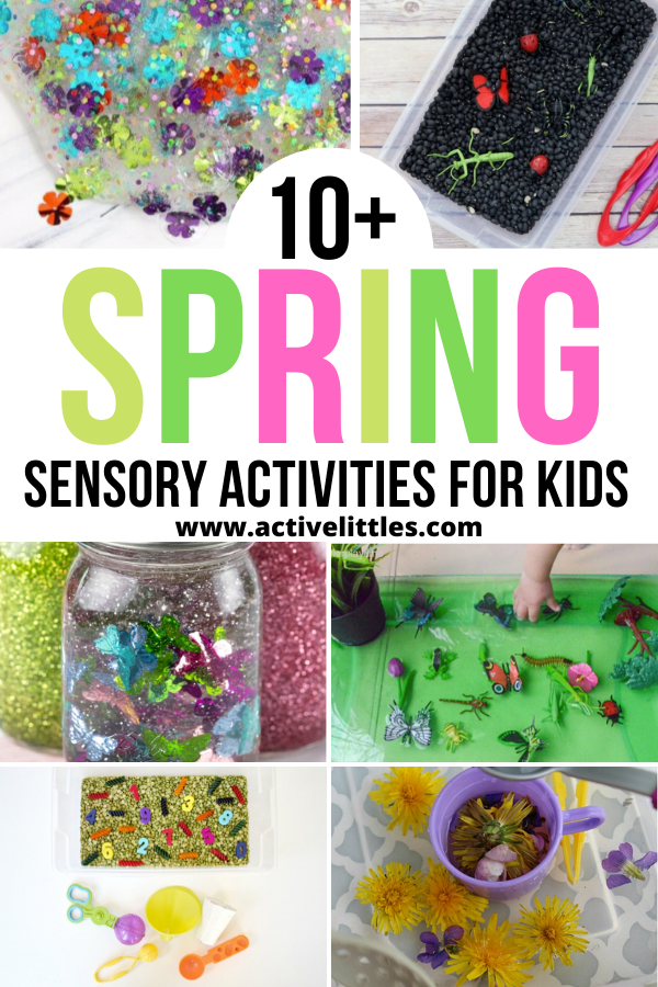spring sensory activities for kids