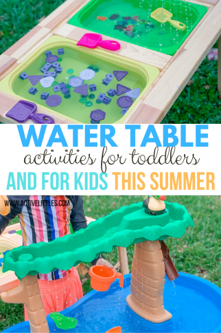Water Table Activities for Toddlers and for Kids