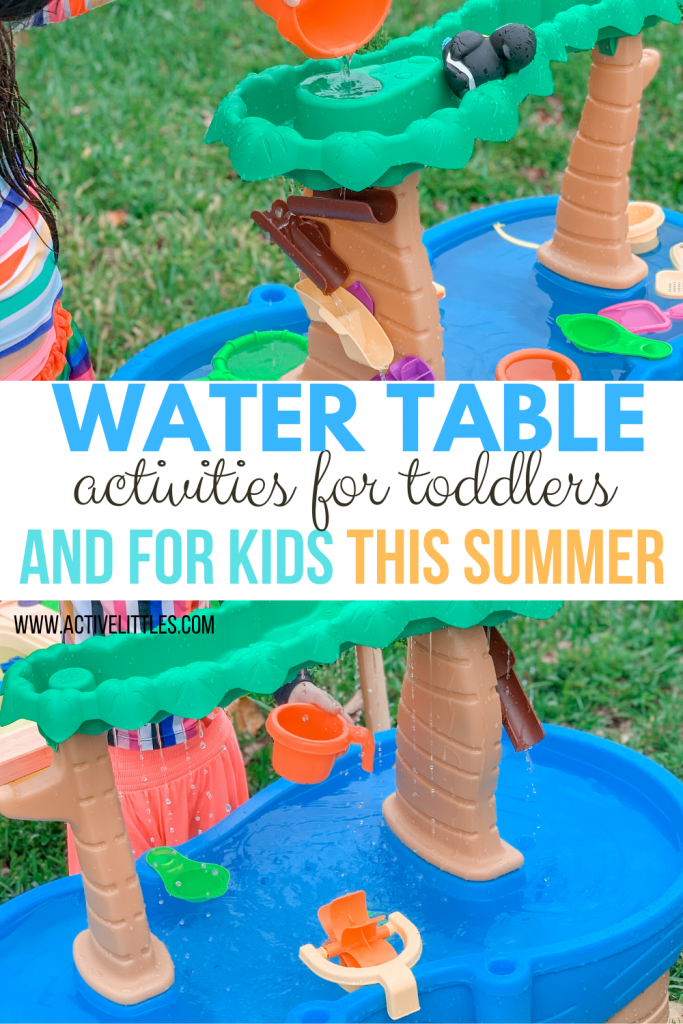 water table activities for toddlers and for kids this summer
